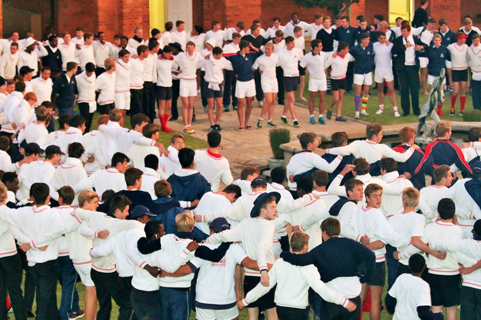 Michaelhouse completes the 'main quad war cry'