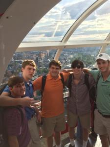Woodberry Boys on the London Eye