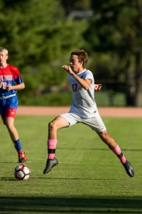October  17, 2017.     Woodberry Forest Soccer vs FUMA.